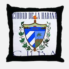 Ciudad de La Habana Throw Pillow