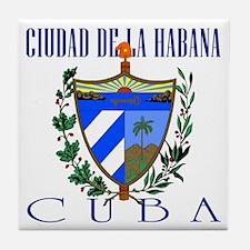 Ciudad de La Habana Tile Coaster