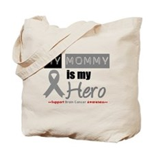 Brain Cancer Mommy Tote Bag