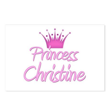 Princess Christine Postcards (Package of 8)