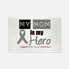 Brain Cancer Mom Rectangle Magnet