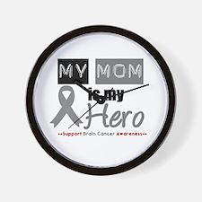 Brain Cancer Mom Wall Clock