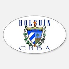 Holguin Oval Decal