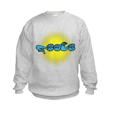PEACE Glow Kids Sweatshirt
