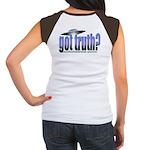Got Truth? Blue Women's Cap Sleeve T-Shirt