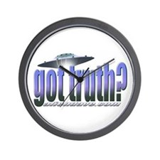 Got Truth? Blue Wall Clock