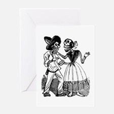 Dialogo de Calaveras Greeting Card