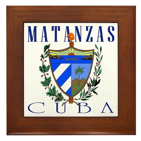 Matanzas Framed Tile