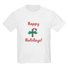 Happy Holidays Kids T-Shirt