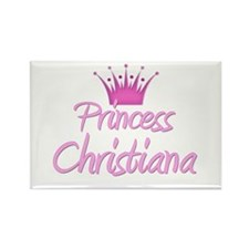 Princess Christiana Rectangle Magnet