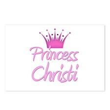 Princess Christi Postcards (Package of 8)
