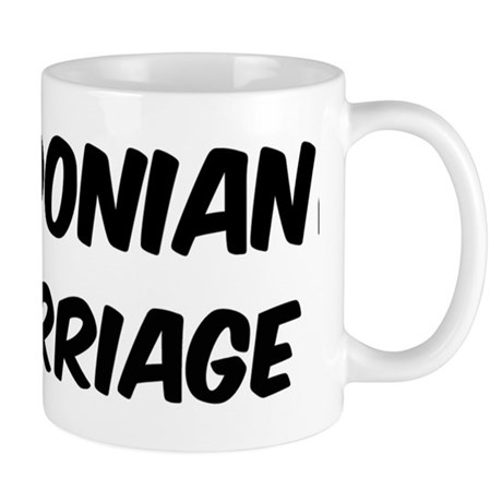 Macedonian by marriage Mug