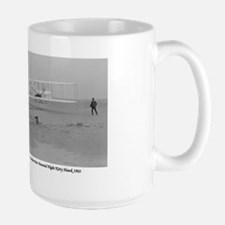 Wright Bros at Kitty Hawk 190 Mug