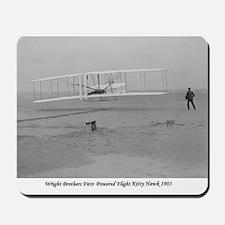 Wright Bros at Kitty Hawk 190 Mousepad