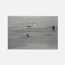 Wright Bros at Kitty Hawk 190 Rectangle Magnet
