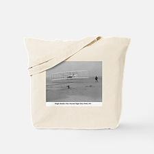 Wright Bros at Kitty Hawk 190 Tote Bag