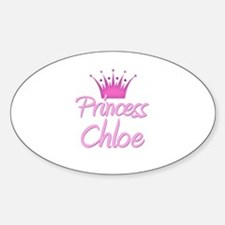Princess Chloe Oval Decal