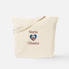 Maria Loves Obama Tote Bag