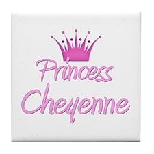 Princess Cheyenne Tile Coaster
