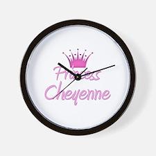 Princess Cheyenne Wall Clock