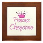 Princess Cheyenne Framed Tile