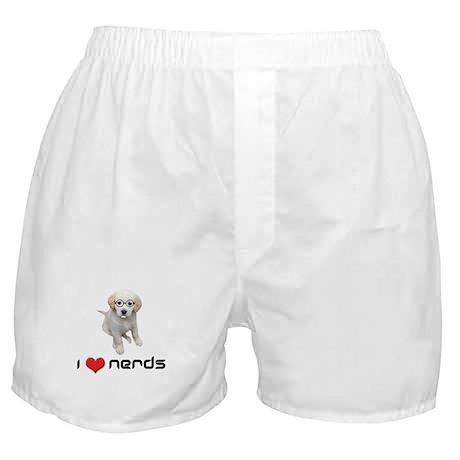 I heart Nerds Boxer Shorts