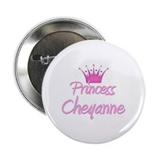 "Princess Cheyanne 2.25"" Button (10 pack)"