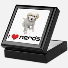 I heart Nerds Keepsake Box