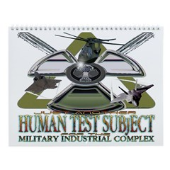 Human Test Subject Wall Calendar