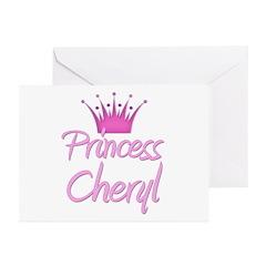 Princess Cheryl Greeting Cards (Pk of 20)