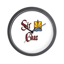 Sir Chaz Wall Clock