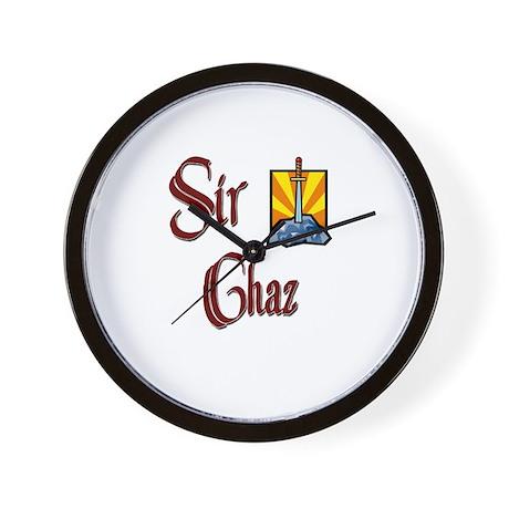 Sir Chaz Wall Clock