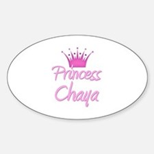 Princess Chaya Oval Decal