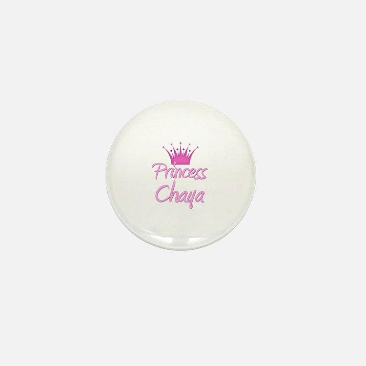 Princess Chaya Mini Button