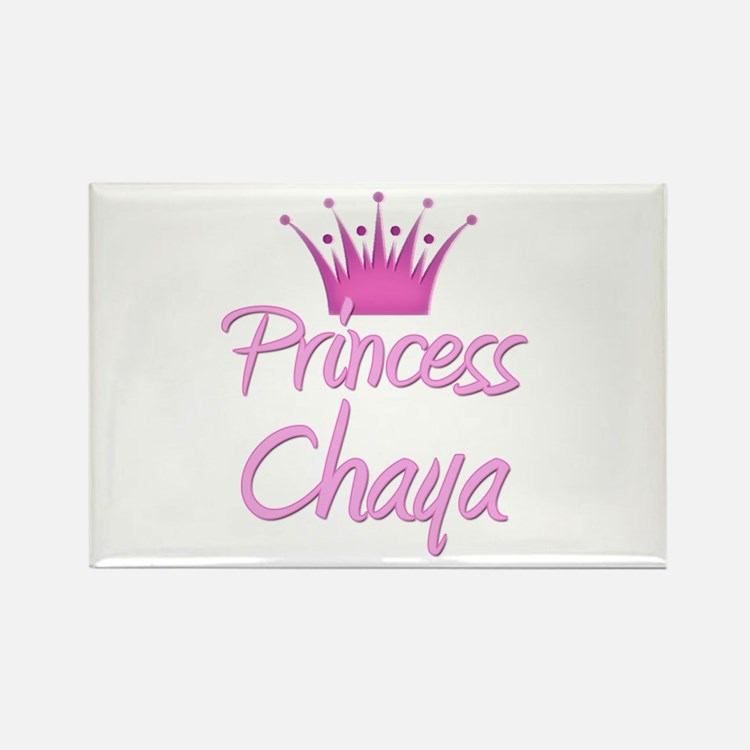 Princess Chaya Rectangle Magnet