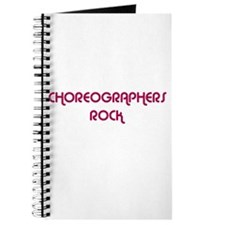 CHOREOGRAPHERS ROCK Journal