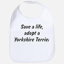 Adopt Yorkshire Terrier Bib