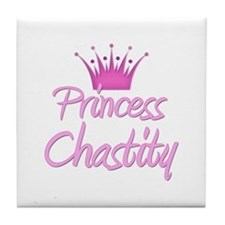 Princess Chastity Tile Coaster