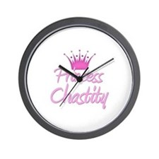 Princess Chastity Wall Clock