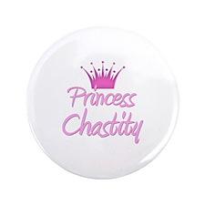 "Princess Chastity 3.5"" Button"