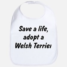 Adopt Welsh Terrier Bib
