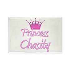Princess Chasity Rectangle Magnet