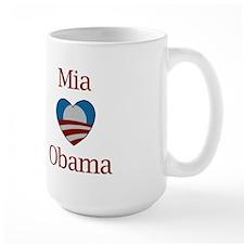 Mia Loves Obama Mug
