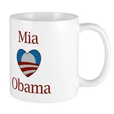 Mia Loves Obama Mug