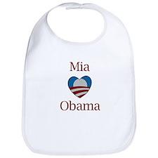 Mia Loves Obama Bib