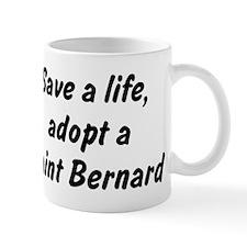 Adopt Saint Bernard Mug