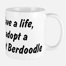 Adopt Saint Berdoodle Mug