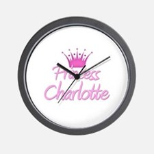 Princess Charlotte Wall Clock
