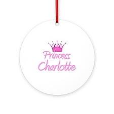 Princess Charlotte Ornament (Round)