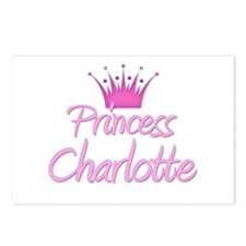 Princess Charlotte Postcards (Package of 8)
